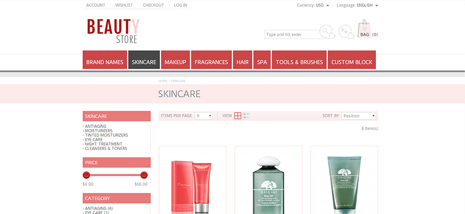 Beauty 2 - Responsive Magento Theme