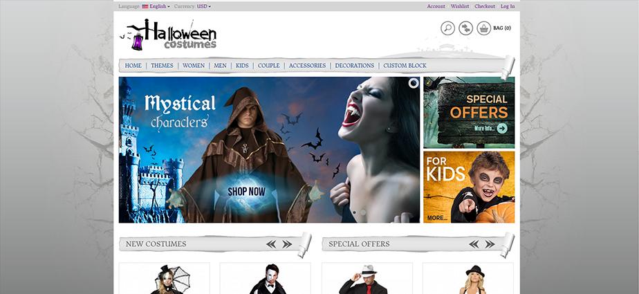 Halloween 1 - Responsive Magento Theme